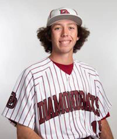 Desert Oasis' Campbell Holt is a member of the Nevada Preps all-state baseball team.