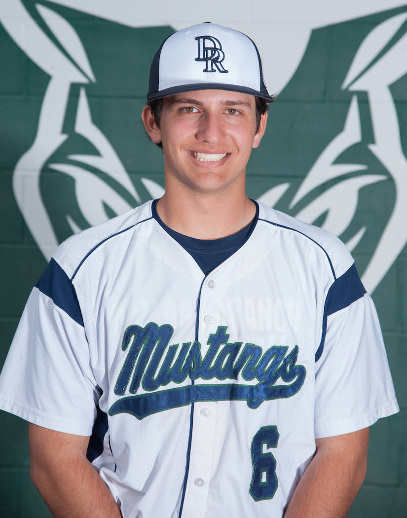 Damonte Ranch's Everett Williams is a member of the Nevada Preps all-state baseball team.