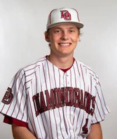 Desert Oasis' Parker Schmidt is a member of the Nevada Preps all-state baseball team.