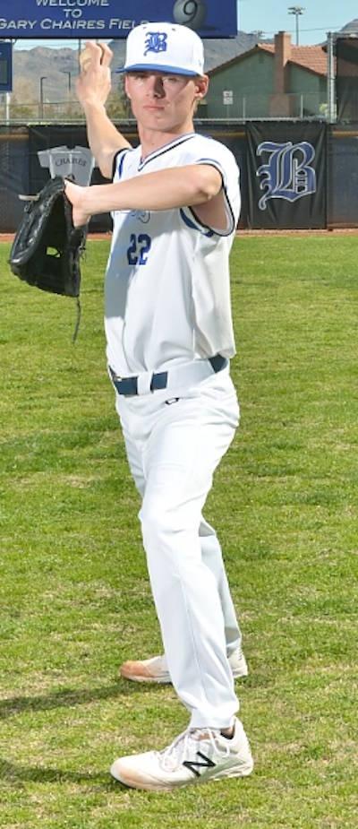 Basic's Shane Spencer is a member of the Nevada Preps all-state baseball team.