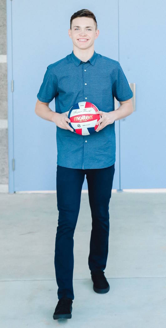 Palo Verde's Jared Brady is a member of the Nevada Preps all-state boys volleyball team.